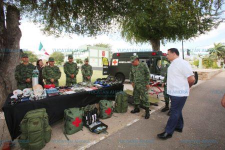 El Ayuntamiento y el Ejército, a favor de la cultura de la paz y la seguridad