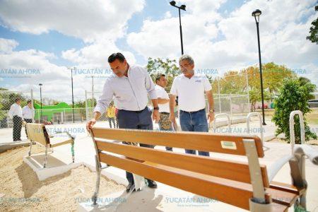 El Ayuntamiento rehabilita y mejora el parque de la colonia Sambulá
