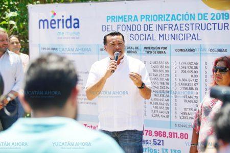 Renán Barrera anuncia inversión histórica del Ramo 33 en Mérida