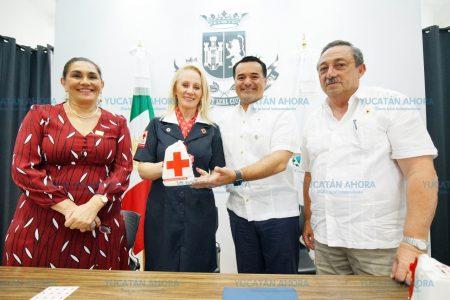 El Ayuntamiento de Mérida se suma a la colecta de la Cruz Roja