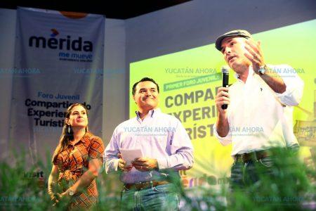 Renán Barrera pide a jóvenes a ser promotores turísticos de Mérida