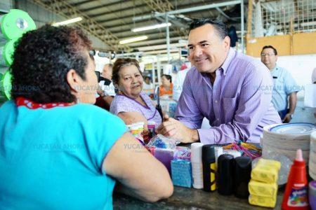 Mérida tendrá mejores mercados, anuncia Renán Barrera
