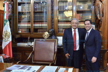 El bien del pueblo, por encima de cualquier otro: Mauricio Vila y AMLO
