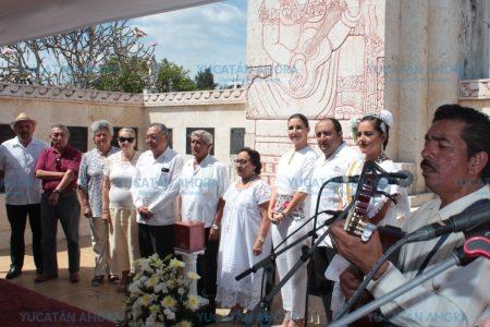 Monumento a los Creadores recibe las cenizas de Juan Magaña y Alonzo