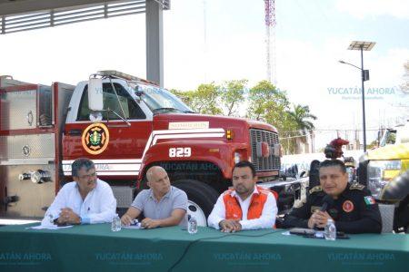En Yucatán, respuesta inmediata a los incendios