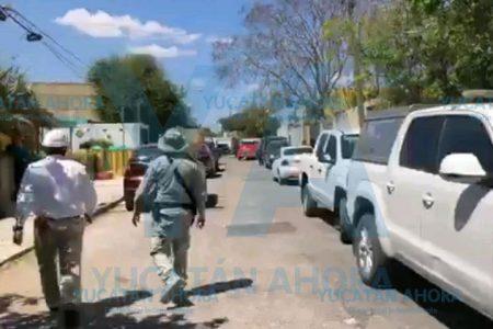 Aseguran casa de 'huachicoleros' en Mérida