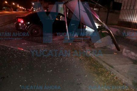 Causa madrugadores destrozos en Circuito Colonias oriente