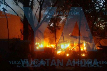 Abuelito de Umán pierde su humilde cocina en incendio