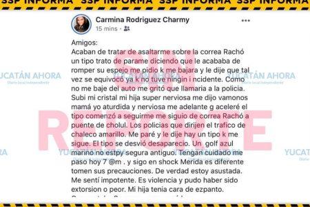 Pinta a Mérida con inseguridad que ni Venezuela tiene… para no asumir que chocó