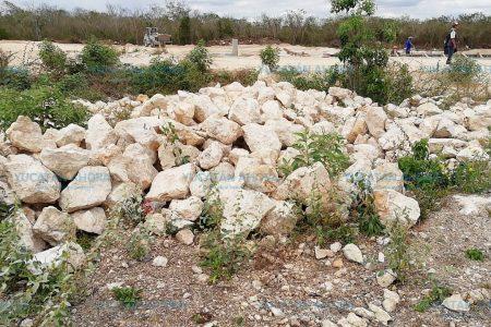 Hacen visible grave daño ambiental atribuido a sascaberas