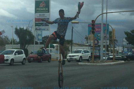 De las carpas de circo a las calles en Mérida