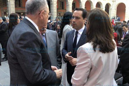 Mauricio Vila, 'bien parado' ante funcionarios del Gobierno de México