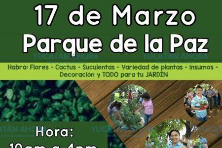 Regresa la Expo Jardín en el Parque de la Paz