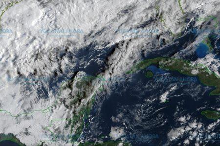 Frente frío ya está en Campeche y ocasionará lluvias en Yucatán