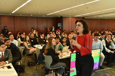 Los jóvenes son el centro de la renovación política: Ivonne Ortega