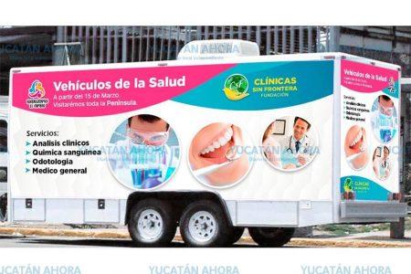Clínicas sin Fronteras trae a Yucatán servicios médicos a bajo costo