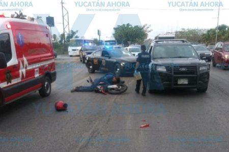 Mañanera tragedia de un motociclista en el Periférico