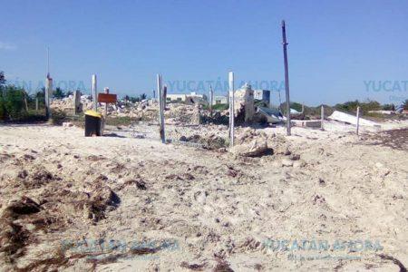 Rinde frutos presión social contra 'muro' de estadounidense en playa yucateca