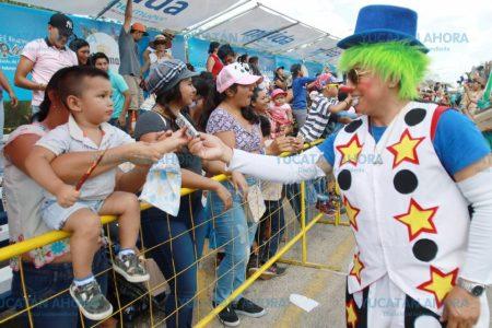 De Chelem a Mérida para pasear en Plaza Carnaval