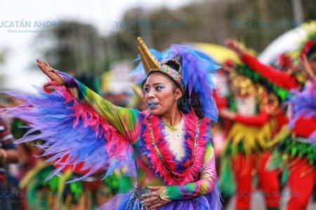 Eufórica despedida a Momo en Plaza Carnaval
