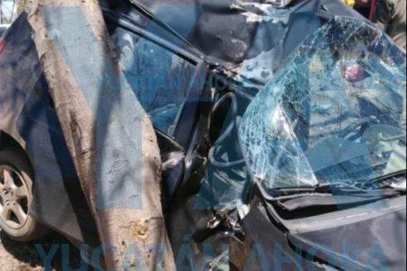 Fatalidad con rostro femenino en el Periférico de Mérida