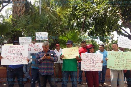 En conflicto alcalde de Motul: es autoridad y líder de taxistas