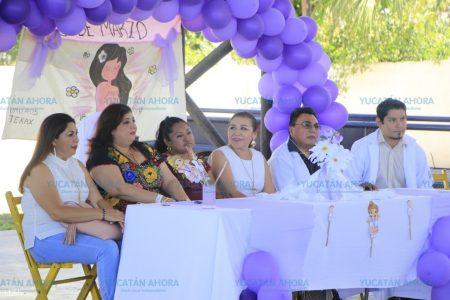 En Tekax recuerdan la lucha por los derechos femeninos