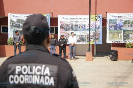 Estrena instalaciones la Policía Coordinada de Tekax