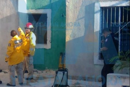 Mujer salva la casa su vecino de un incendio