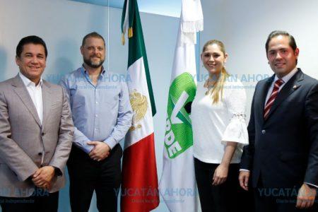 Nombran a Verónica Camino Farjat delegada del PVEM en Yucatán