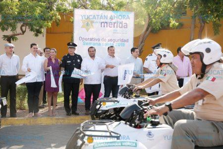 En vacaciones el centro histórico de Mérida concentra 450 mil personas
