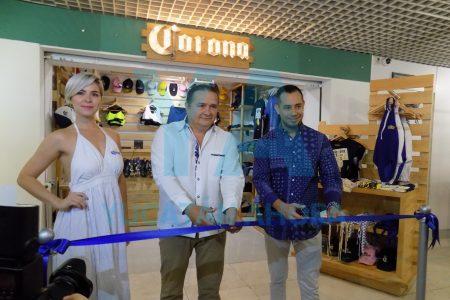 Inauguran la primera Boutique Corona de Yucatán en el aeropuerto