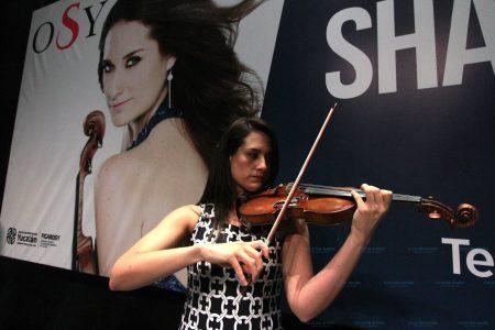 Regresa a la OSY aclamada violinista mexicana