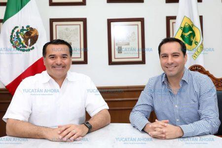 Gobierno de Yucatán y Ayuntamiento de Mérida, en el mismo rumbo