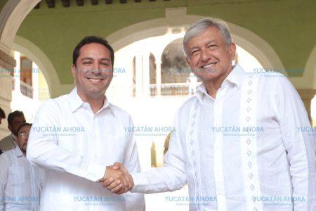 Ratificamos respaldo de Yucatán al Tren Maya: Mauricio Vila