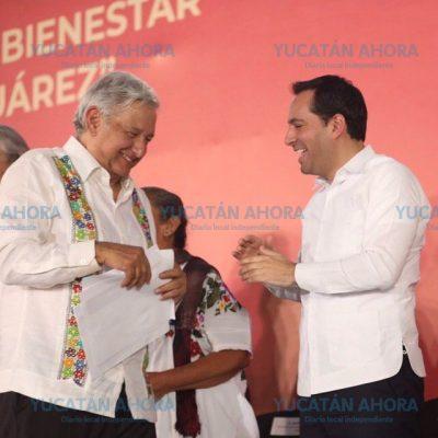 Mauricio Vila, el único gobernador que ha librado abucheos en actos de AMLO