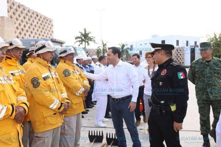 Mauricio Vila pide unir esfuerzos para prevenir incendios forestales