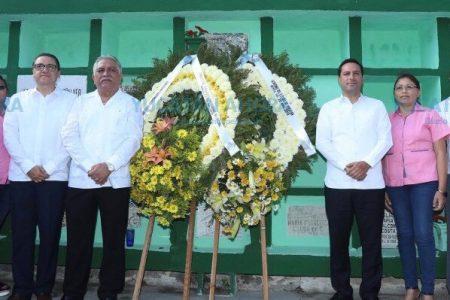 Mauricio Vila encabeza homenaje a los Trabajadores del Estado