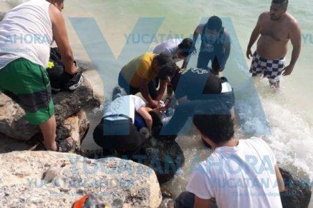 Una joven sufre mortal ataque nadando en Chuburná Puerto