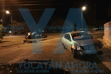 Alcoholizado, joven regio provoca accidente en el Periférico