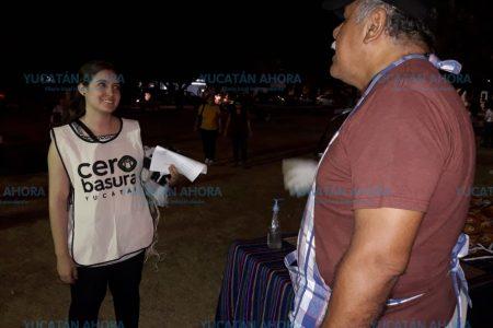 Vuelve el Mercado Cero Basura a los parques de Mérida
