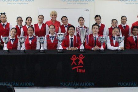 Estudiantes yucatecos destacan en concurso internacional