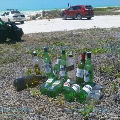 Turistas dejan más basura que beneficios en El Cuyo