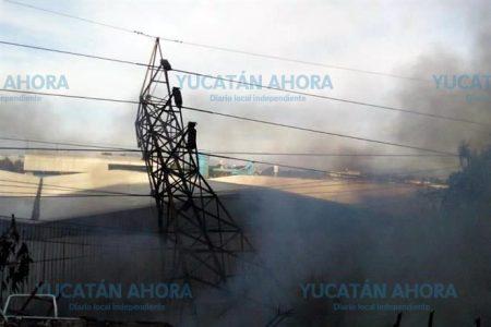 Un incendio, la causa del apagón en la Península de Yucatán, reporta CFE