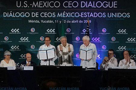 López Obrador agradece a Trump por tratar migración y comercio con respeto