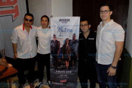 Matisse regresa a Mérida con su 'Por tu bien Tour'