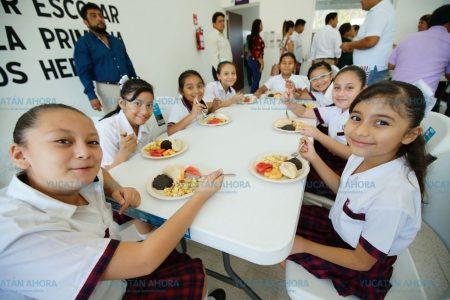 Apoyo a la educación y la nutrición de la niñez meridana