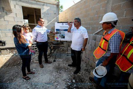 Toman forma acciones de vivienda social en Mérida