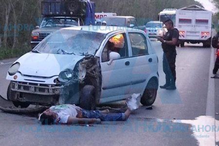 Motociclista protagoniza trágico accidente