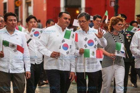 Reconocen valentía, esfuerzo y legado cultural de Corea en Mérida